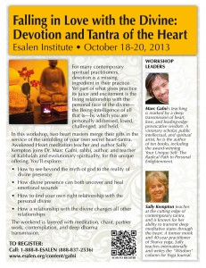 Falling in Love with the Divine: Devotion and Tantra of the Heart, Oct. 18-20, 2013